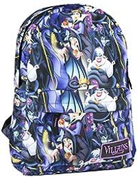 Mochila Escolar de Las Villanas de Disney con Licencia Oficial para Jóvenes y Adultos 44 cm