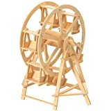 Etna Iława Riesenrad 3D Holzbausatz Jahrmarkt Rummel Fahrgeschäft Steckpuzzle Bauwerk Holzpuzzle P033