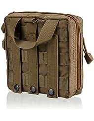 Kit de premiers secours Molle EMT par BlueSnail. Sac tactique de survie. Sac médical. Accessoires. Sac utilitaire. Pochette de stockage à outil EDC
