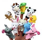 Beauty DIY Mart Lomire 10pcs Juguetes Marionetas Animales de Dedos Finger Títeres Muñecos Divertido Kawaii para Bebé Niños