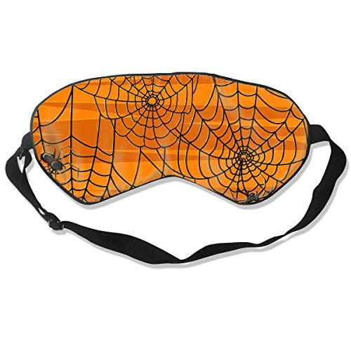 ary Halloween Spiders Graphics Comfortable Sleep Eyes Covers ()