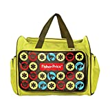 #4: Fisher-Price Diaper Bag Multi-functional Nappy Bags Waterproof Travel Mom Backpack for Baby Care, Large Capacity, Stylish and Durable