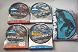 JURASSIC PARK WORLD Tin Collection 1 2 3 4 Lost World (Blu-ray Tin Edition) [Region-Free Limited Edition]