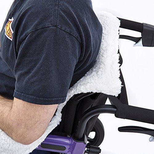51EvistXF L - Ability Superstore - Saco para silla de ruedas (99 x 77 cm)