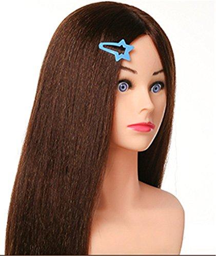 Remeehi 70cm capelli Parrucchiere Formazione Testa Stile