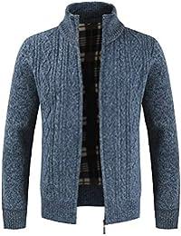 0626250240 Amazon.it: cardigan blu in lana - Uomo: Abbigliamento