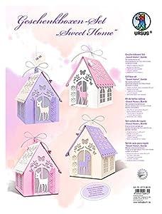 Ursus 27710099Juego de Manualidades Cajas de Regalo Sweet Home, Bambi