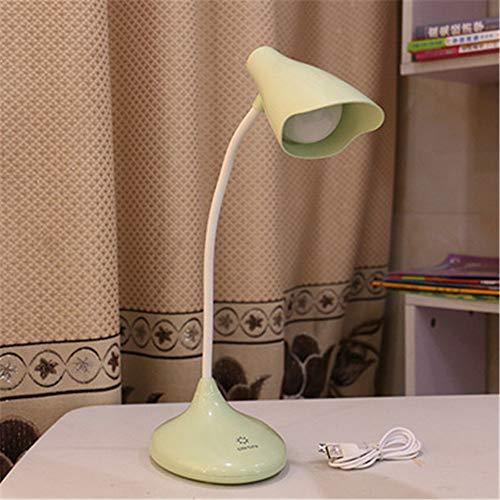 Led Schreibtischlampe, Cartoon-Stil Lesebuch Nachttischlampe, Touch Control Eye-Caring Tischlampe Für Studie Schlafzimmer Kinder Student Weihnachtsgeschenk