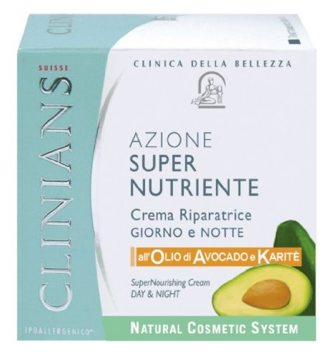 CLINIANS SuperNutritive Gesichtscreme mit Avocado-Öl 50ml