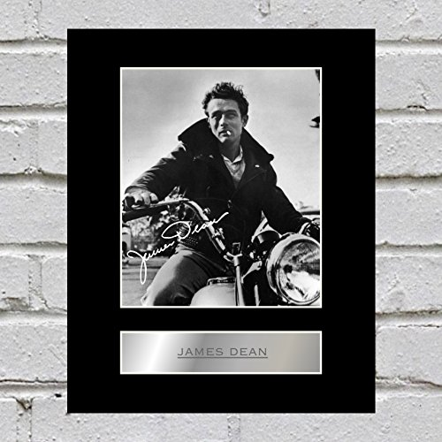 James Dean, signiert, Display (James-dean-auto)