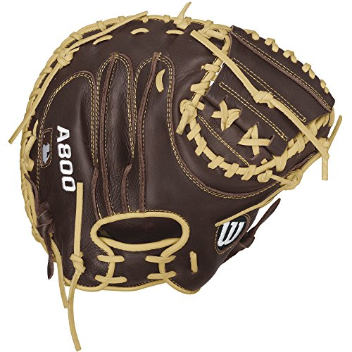 "Baseballhandschuh Wilson A800 Showtime Catchers Mitt 34"" LHC"