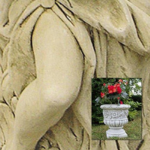 Vasen Außenbeleuchtung Flavio Durchm.cm39X 41H in verschiedenen Farben Antik