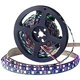 CHINLY WS2811 5m 100IC 300 leds LED Pixel Streifen flexibel individuell adressierbar Led-Streifen Traumfarbe nicht wasserdicht DC12V schwarz PCB