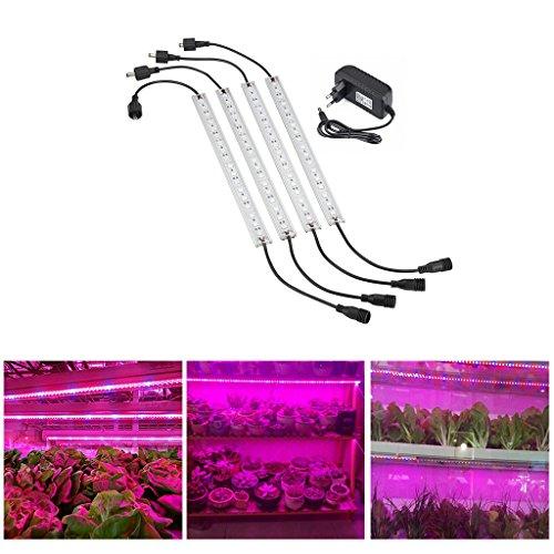 Lampwin - 5050 Pflanzenleuchte Pflanzenlampe Wachstumslampe Pflanzenlicht (Tagelslicht, LED, 225 LEDs, 165 Rot 60 Blau, für Zimmerpflanzen Wasserpflanzen Blumen und Gemüse)