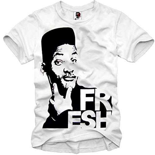 E1SYNDICATE T-SHIRT FRESH PRINCE OF BEL AIR SWAG WILL SMITH DOPE 23 S-XL (Fresh Prince Bel Air Bekleidung)