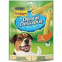 Purina - Friskies Dental Delicious Snacks para Perro Pequeño - Pack de 6 x 100 g - Total 600 g