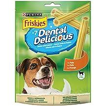 Purina Friskies Dental Delicious golosina dental para Perro Pequeño 6 x ...