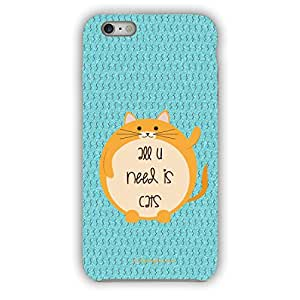 buy popular b7748 794c1 Fat Cat Phone Case Cover for Girls: Amazon.in: Electronics
