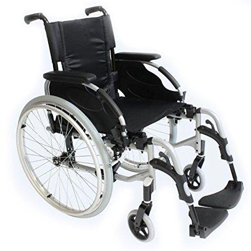 Silla ruedas aluminio autopropulsable Action 2 asiento