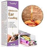 Candela di cerume, rimozione del cerume, candele dell'orecchio,16x Candele per orecchie Conici,con filtro incl
