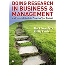 Doing Research in Business and Management: an essential guide to planning your project