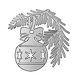FNKDOR Fustelle per Scrapbooking, Fustella Fustellatrice Stencil Metallo Cutting Dies DIY Stampo Carta Album Stampi, Accessori per Big Shot e Altre Macchina (D)