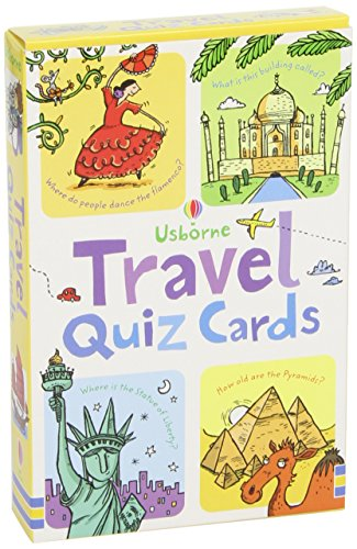 Travel Quiz Cards (Activity and Puzzle Cards)