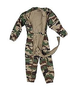 Combinaison Militaire Double Zip Camouflage Camo Centre Europe Miltec 11731024-l Airsoft