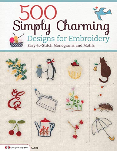 500 Simply Charming Designs for Embroidery Design
