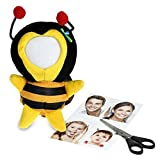 3D Buddies Photo Puppet Picture Frame – Create-Your-Own Soft Toy Pendant with a