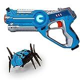 #10: NOOVA Toys Laser Toy Gun Kids Games Laser Tag and Robot Bug Striker Pack