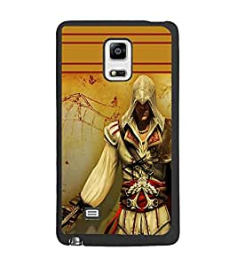 PrintDhaba Warrior D-1891 Back Case Cover for SAMSUNG GALAXY NOTE 4 EDGE (Multi-Coloured)