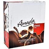 بسكويت ستارز بالشوكولاتة ونكهة الحليب من امادا، 24 قطعة وزن الواحدة 44 غرام، عبوة من قطعة واحدة