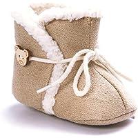 Bambina Stivali Da Neve Inverno Caldo Scarpe