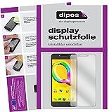 dipos I 2X Schutzfolie klar passend für Alcatel A5 LED Folie Displayschutzfolie