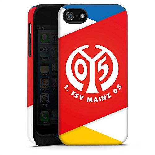 Apple iPhone SE Silikon Hülle Case Schutzhülle 1. FSV Mainz 05 e.V. Bundesliga Fanartikel Tough Case matt