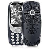 kwmobile Nokia 3310 (2017) Hülle - Handyhülle für Nokia 3310 (2017) - Handy Case in Schwarz Transparent