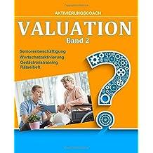 Valuation 2: Wortschatzaktivierung - Seniorenbeschäftigung