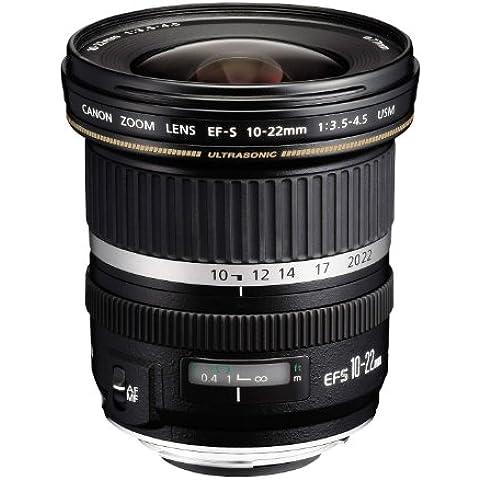 Canon EF-S 10-22MM F/3.5-4.5 USM - Objetivo para Canon (distancia focal 10-22mm, apertura f/3.5) color