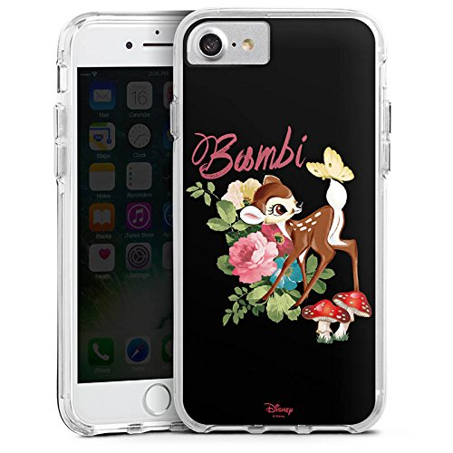 Apple iPhone 6s Plus Bumper Hülle Bumper Case Glitzer Hülle Disney Bambi Merchandise Fanartikel Bumper Case transparent