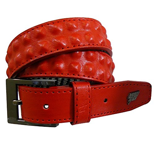 Lowlife Slim Cover Up Belt - Red - X/Small Double Stud Belt