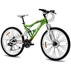"26"" MOUNTAIN BIKE ROOSTER 21 speed Shimano UNISEX red - (26 inch)"
