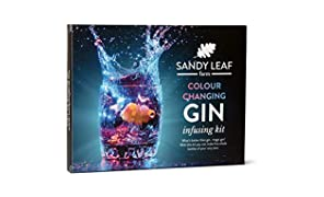 Colour Changing Gin Infusing Kit - Make a whopping Five Bottles of Your own Magically Colour Changing Gin - Amazing Gift for Gin and Cocktail Lovers