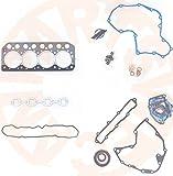 Gowe Motor Dichtung-Set für Mitsubishi S4L Diesel Motor Dichtung Kit Fit TCM Gabelstapler & Generator Set