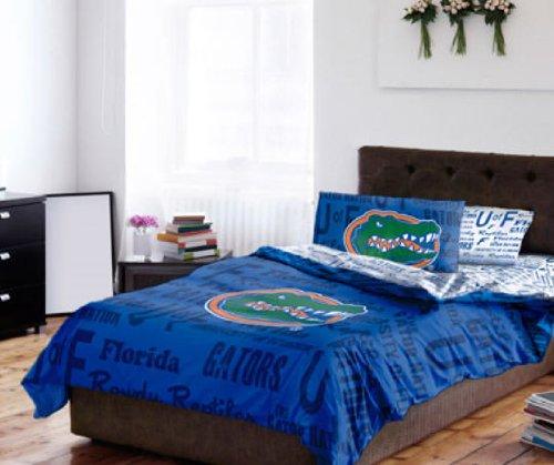 NCAA Florida Gators Full Tröster & Tabelle Set (5Stück Bett in Einer Tasche) (5 Stück Tröster)