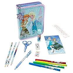 Disney Frozen Anna & Elsa Zip-Up Stationery Kit Accessory