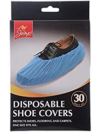 60 Disposable Shoe Covers/2pks of 30