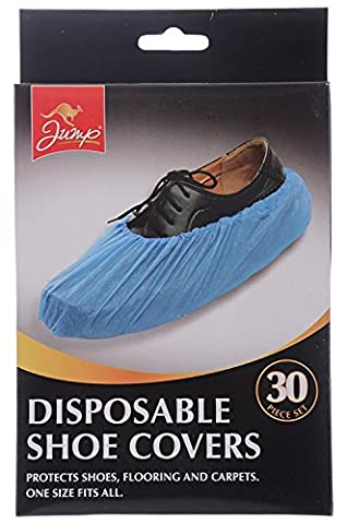 60 Disposable Shoe Covers/2pks of