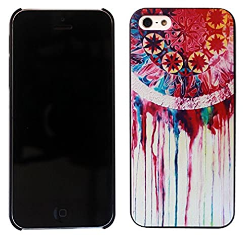 Coque Iphone 4 4S Watercolor Dream Catcher Painted style funky Design