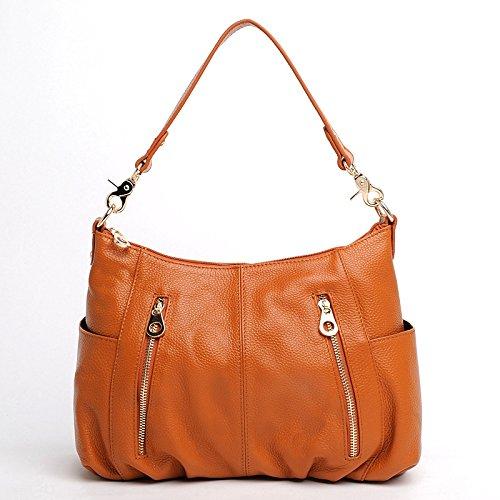 Chlln Die Neuen Sommer - Damen Tasche Messenger - Bag Umhängetasche Alle Treffer Trend Brown